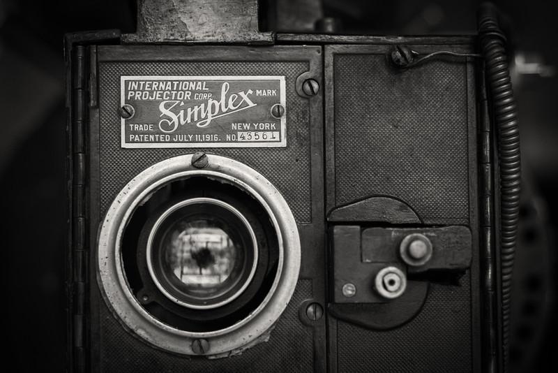 1916 Simplex projector