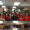 Members of the San Antonio chapter prepared and served breakfast to the homeless community while volunteering with Haven for Hope on Saturday, April 9, 2016.