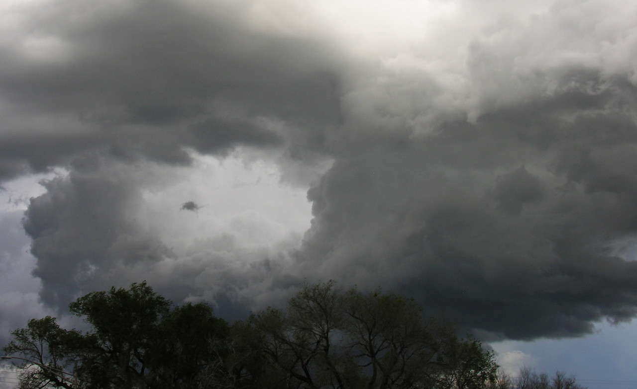 Tornado time in Lamar.