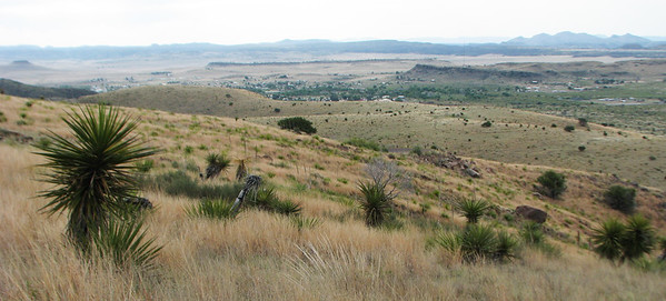 View of Fort Davis
