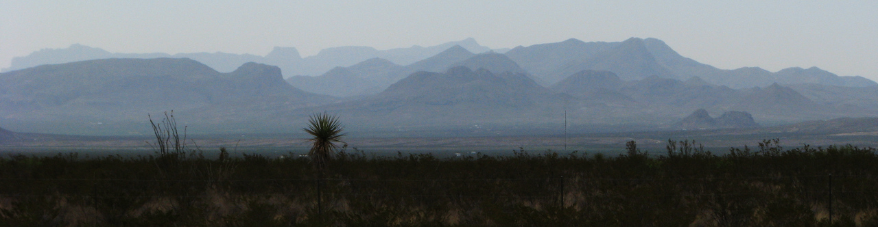 Chisos Mountains in Big Bend Park