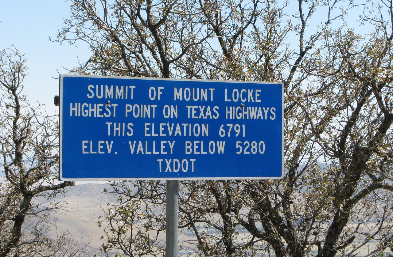 Near McDonald Observatory