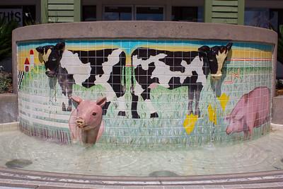 Cow Fountain
