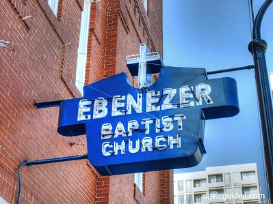 Old Ebenezer Baptist Church on Auburn Avenue
