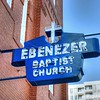 Old Ebenezer Baptist Church on Auburn Avenue