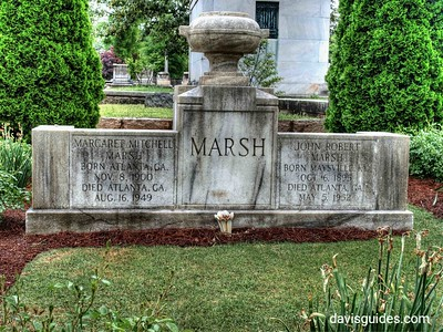 Grave of Margaret Mitchell at Historic Oakland Cemetery