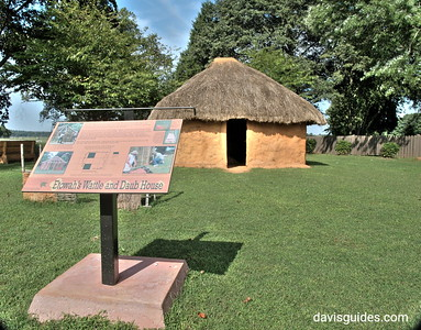 Waddle and daub house, Etowah Indian Mounds State Historic Site