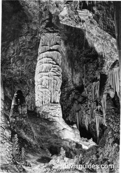 Giant Dome, Hall of Giants, Carlsbad Caverns National Park, 1934