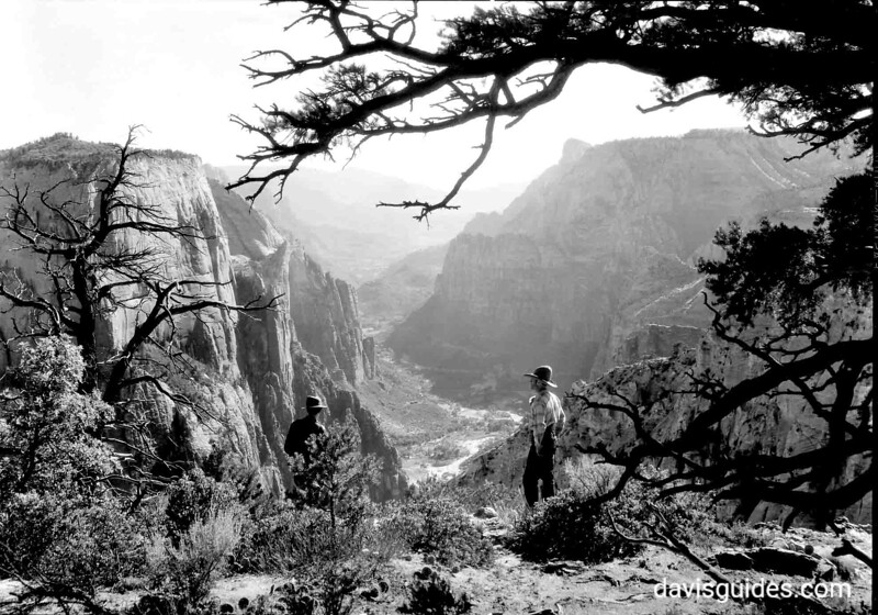 Zion Canyon, Zion National Park, 1929
