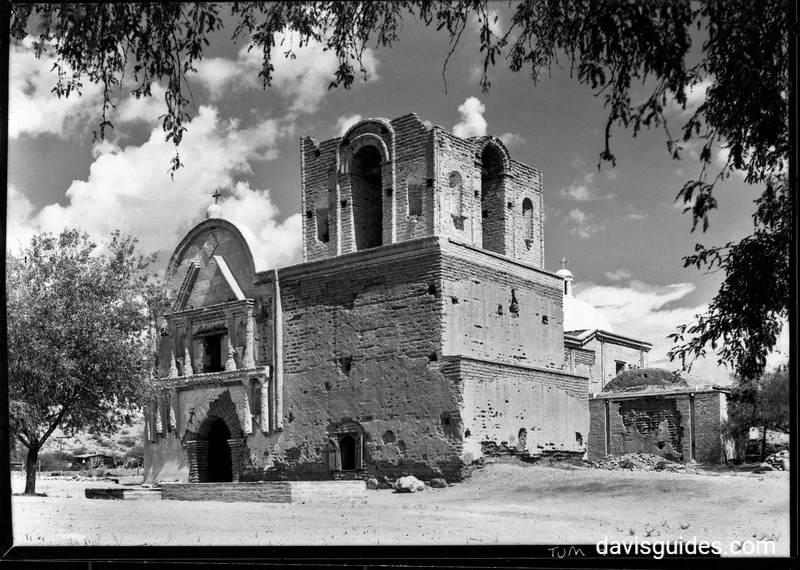 Tumacacori Mission National Monument, Arizona, 1929
