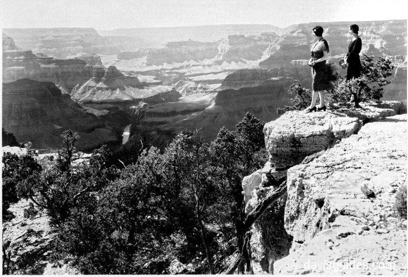 View of the canyon, Grand Canyon National Park, 1930