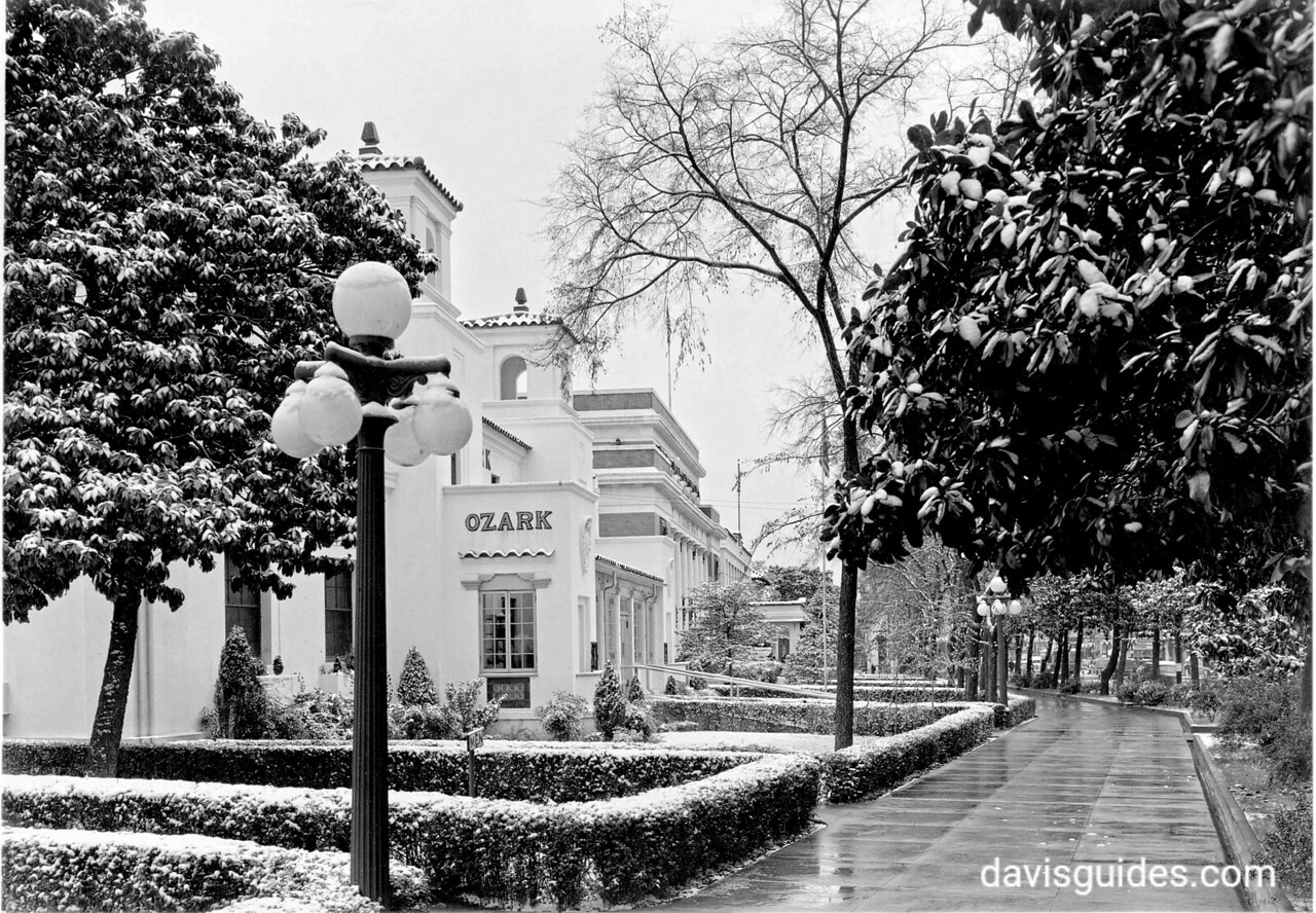 Bathhouse Row, Hot Springs National Park, 1937