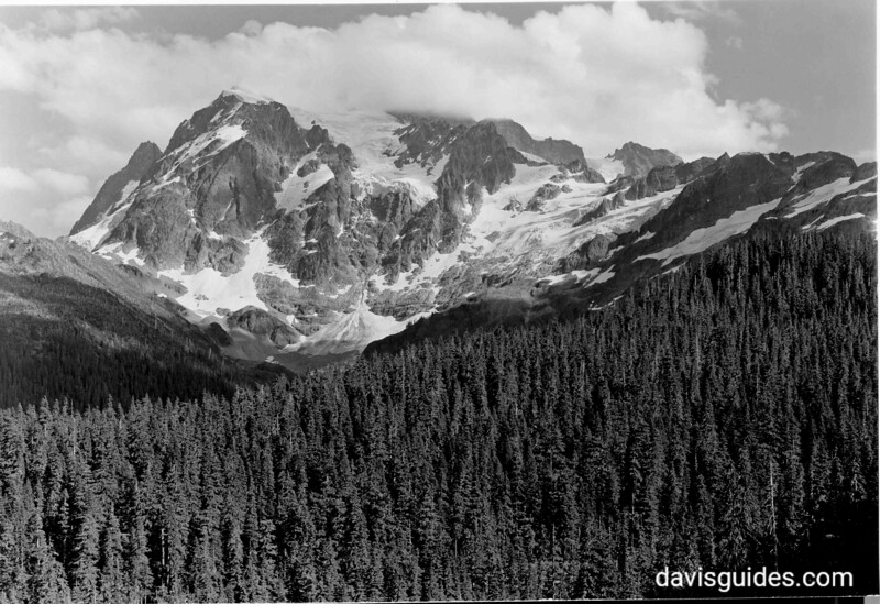 Mount Shuksan from Mount Baker Highway, proposed North Cascades National Park, 1937