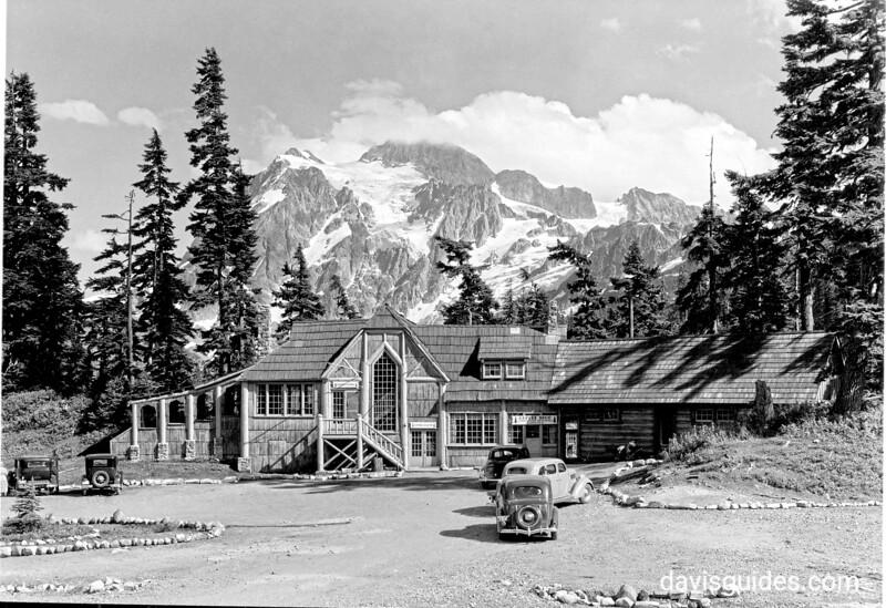 Mount Baker Lodge Restaurant, proposed North Cascades National Park, 1937