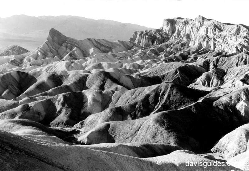 Zabriske Point, Death Valley National Park, 1935