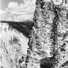 Rim of Bluff near Artist's Point, Yellowstone National Park, 1936