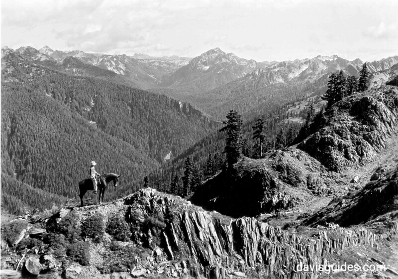 View of Mount Muncaster from the High Divide, proposed Olympic National Park, 1934