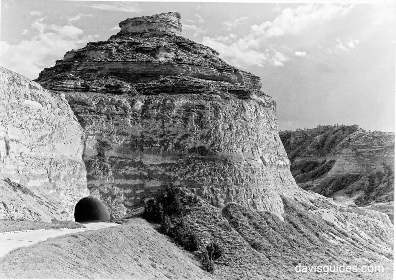 Road Tunnel near Mitchell Pass, Scotts Bluff National Monument, 1938