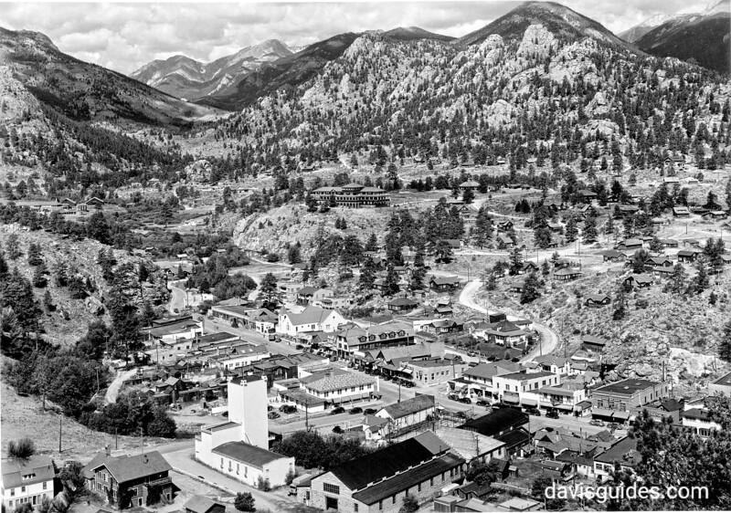 Estes Park, Colorado, near Rocky Mountain National Park, 1938