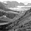 Horseback party beneath Grinnell Glacier, Glacier National Park, 1932