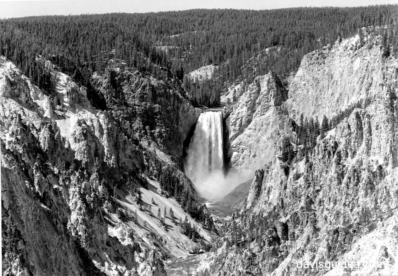 Grand Canyon of the Yellowstone River, Yellowstone National Park, 1939