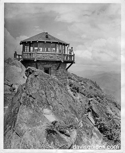 Mount Cammerer fire lookout tower, Great Smoky Mountains National Park, Tennessee