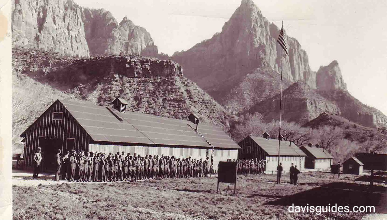 Retreat at CCC camp, Zion National Park, Utah