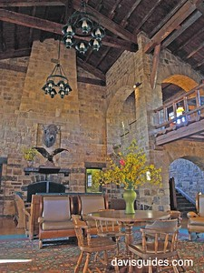 Interior of Giant City Lodge, Giant City State Park, Illinois