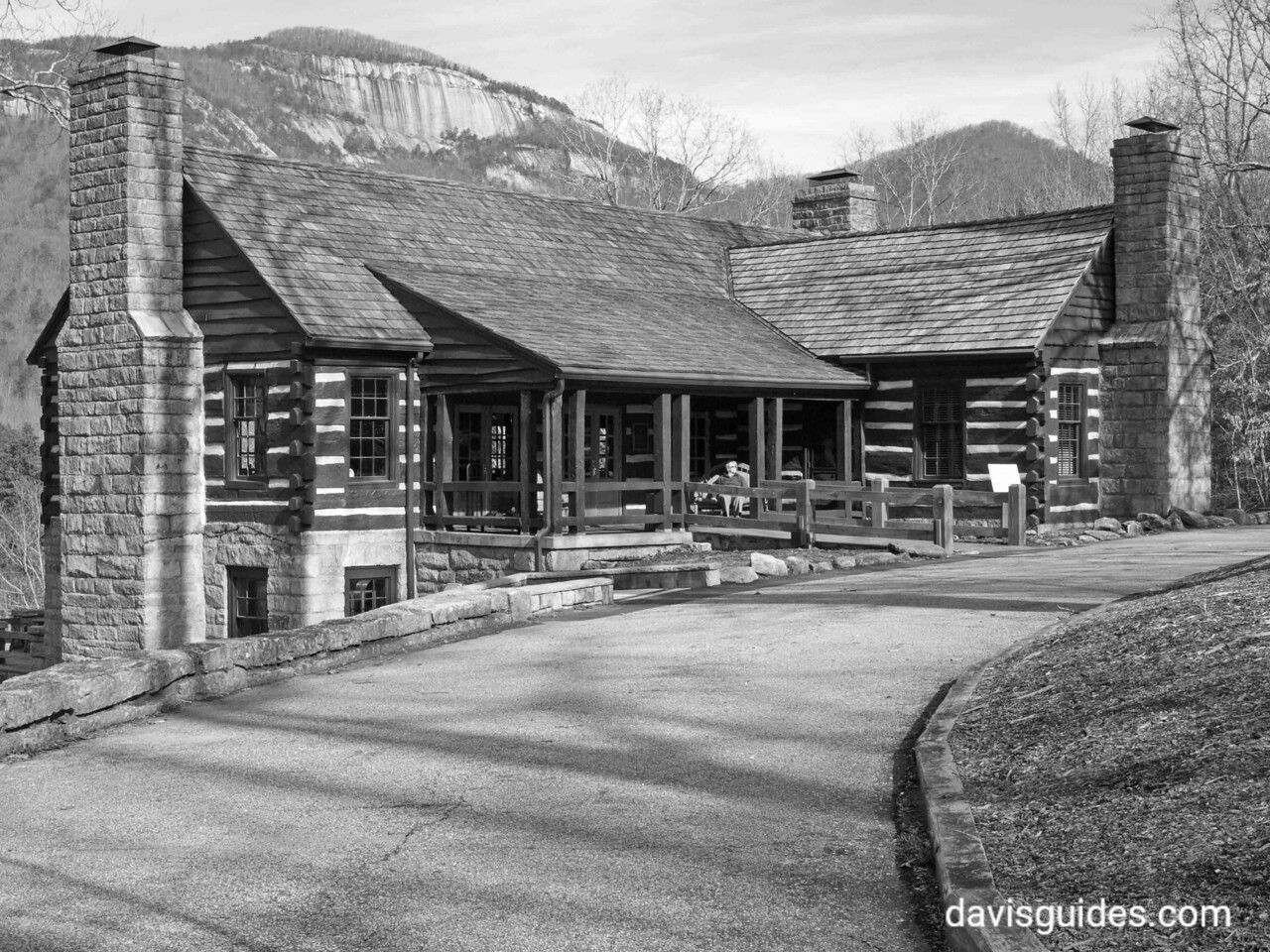 CCC Lodge, Table Rock State Park, South Carolina