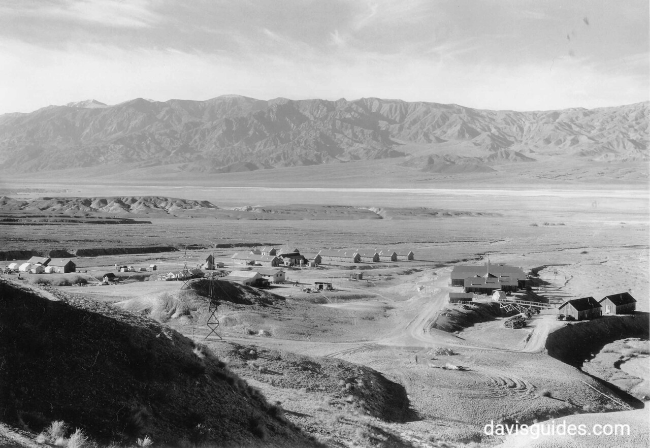 CCC Camp Funeral Range, Death Valley National Park, California