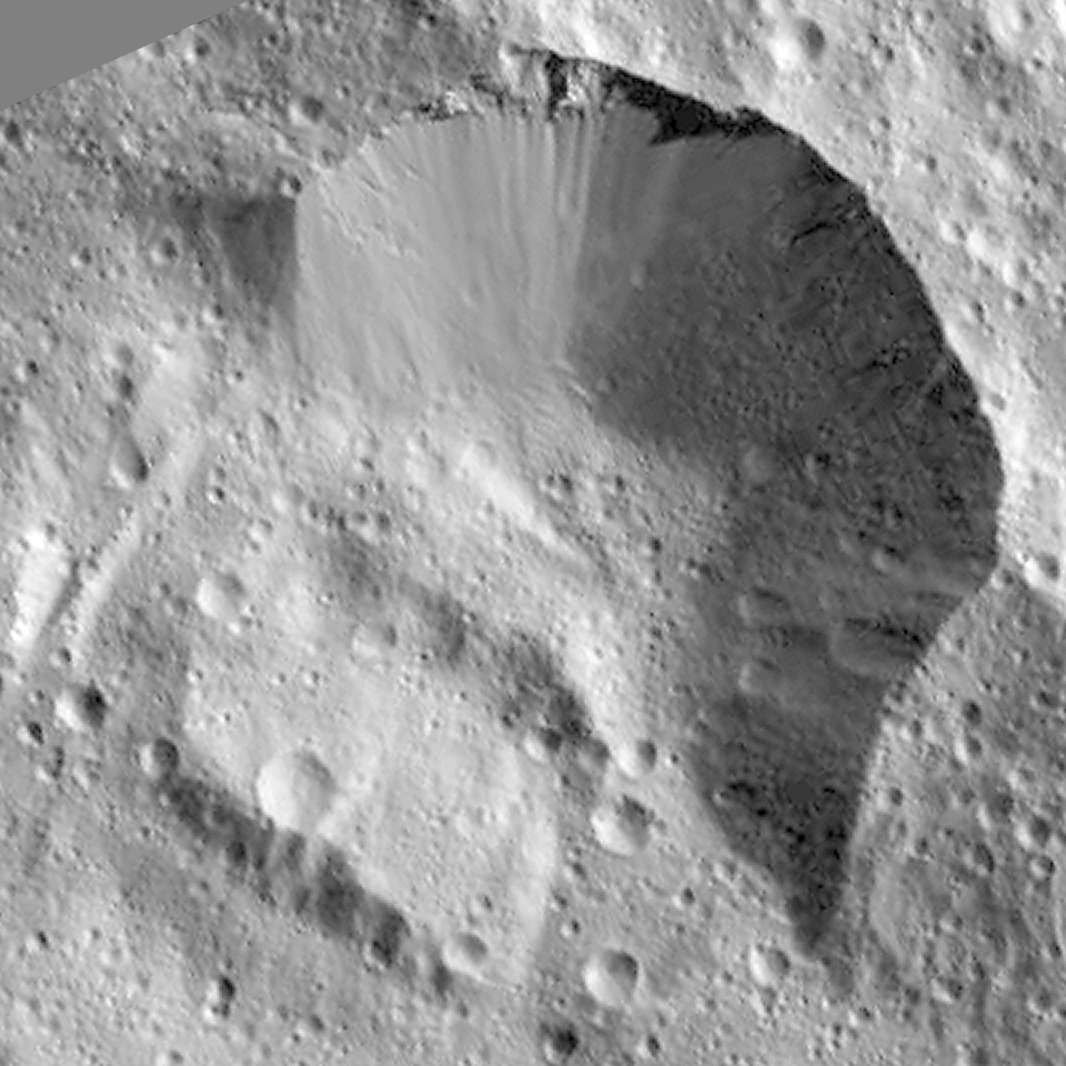 Rim of  Jarimba crater
