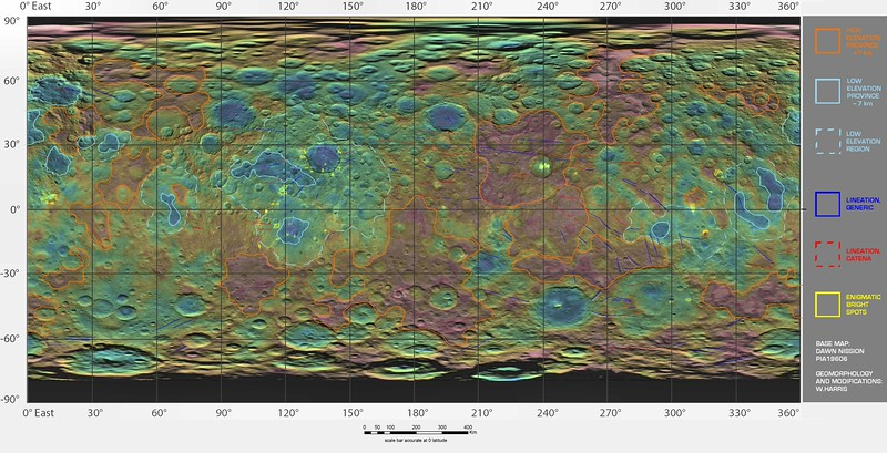 The Geomorphology of Ceres