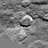 A Crateroid surrounded by Jumbled and Chaotic terrain