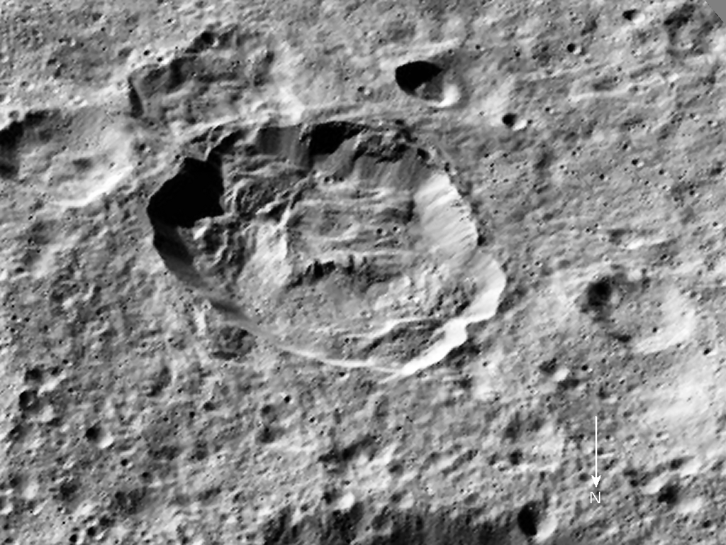 Crater Victa--subject of HAMO-44