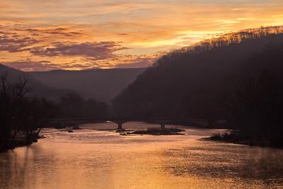 Daybreak on the Greenbrier