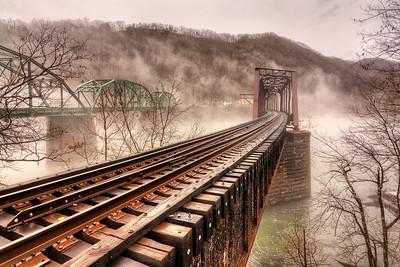 Bridges Over Foggy Waters
