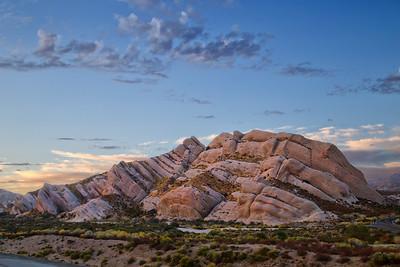 Twilight at Mormon Rocks