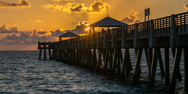 Sunrise over the Fishing Pier