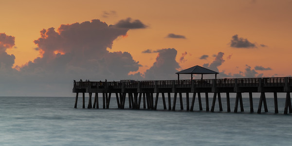 Juno Beach Fishing Pier at Dawn