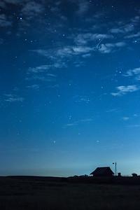Barn & Meteor