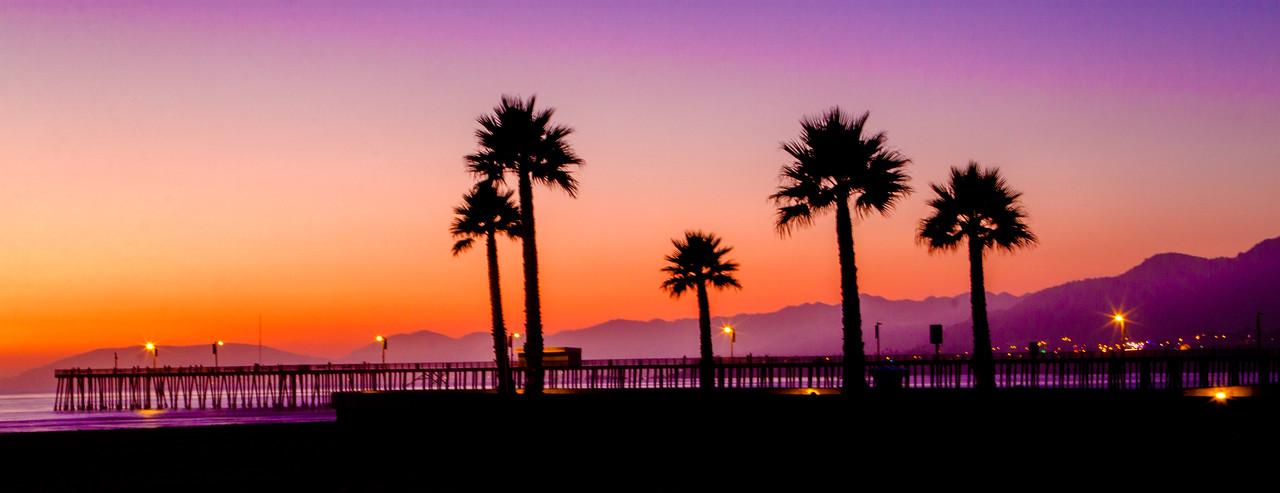 Sunset Pismo Beach Pier