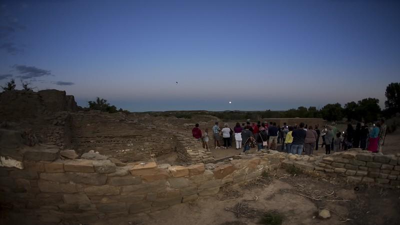 Aztec Ruins - Full Moon