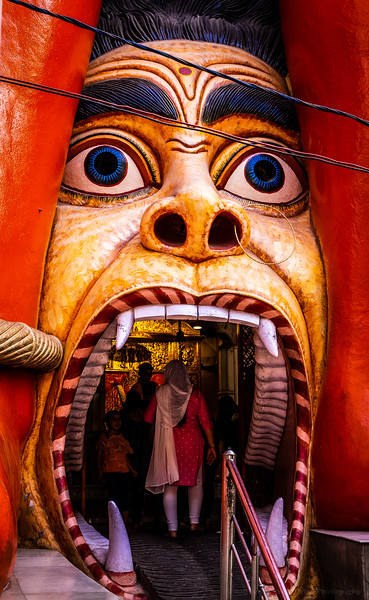 Dare to Enter the Monkey Temple
