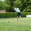 Bernie Nangle from Long Meadow tees off a Vesper Country Club. (The Sun / Chris Tierney)