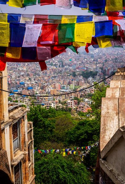 First View of Kathmandu