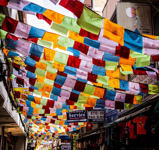 Street of Flags
