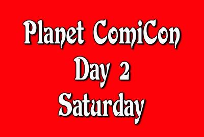 Day 2 Saturday Planet Comicon