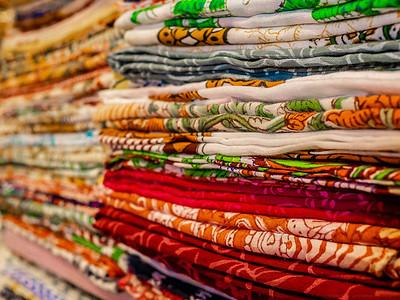 Stacks of Cloth