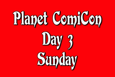 Day 3 Sunday Planet Comicon