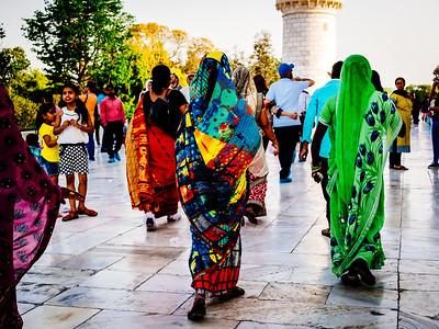 Bright Saris
